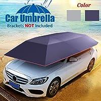 GEMITTO Paraguas automático Universal para Coche, Cubierta protectora de paraguas de coche impermeable 400 x