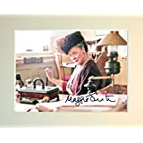 MAGGIE SMITH DOWNTON ABBEY SIGNED AUTOGRAPH PHOTO PRINT IN MOUNT