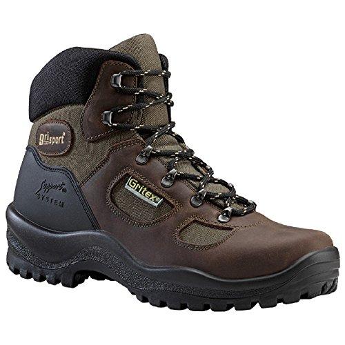 Grisport GRS626–42Hilltop stivali in pelle resistente all' acqua, taglia: 42, marrone (confezione da 2)
