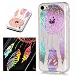 Coque Apple iPhone 5C, SsHhUU Transparent Laser Motif Souple Créatif Design Ultra...