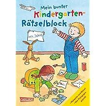 Mein bunter Kindergarten-Rätselblock: mit Jakob