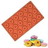 EQLEF® 18 Grids Mini Doughnut-Form Runde Buscuit Und Kuchen-Form für