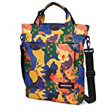 Eastpak Heggs Bolso Bandolera, Diseño Orange World, Color Multicolor