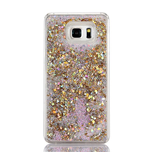 all, liujie Liquid Cool Quicksand beweglichen Stars Bling Glitzer Floating Dynamic Fließende Fall Liquid Cover für Samsung, ZS 2# ()