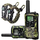 Aikmi Walkie Talkies Kids 8 Channel 3 KM Long Range Ingenious Communication Gadget Preventing Myopia Toys Best Birthday Gifts 4-6 year old Boys Fit Outdoor Adventure Game Camping idea