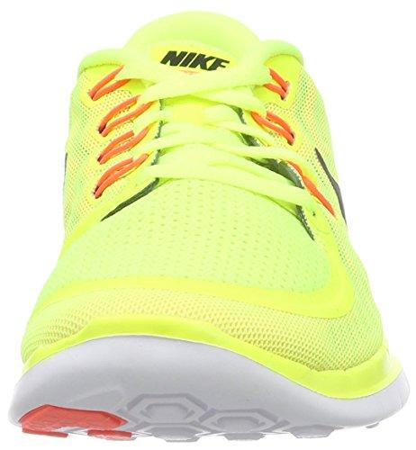 Nike Free 5.0, Chaussures de Running Femme Gelb (Volt/Black-Lava Glow-Sunset Glow)