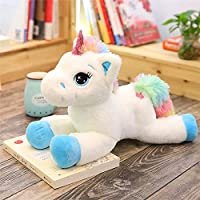 Cartoon Kids Plush Toy Rainbow Unicorn Doll Stuffed Animal Toys Girls Boys Birthday Gifts