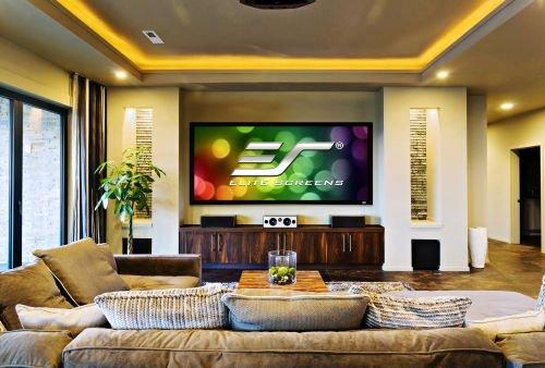 """'Elite Screens SableFrame CineGrey 3D 100""""16: 9Bildschirm Projektion–Monitore von Projektion (2,54m (100), 2,21m, 124,5cm, 16: 9)"""