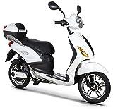 Scooter Bicicletta Elettrica 250W NCX Lucky XD Citybike Bianco