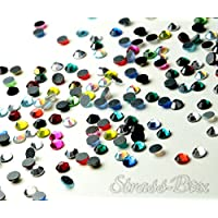 Strass Hotfix DMC color Mix SS16 pieza número a elegir brillantes parches termoadhesivos, 1.000
