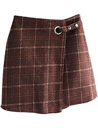 Originaltree - Mini Falda de Lana de Invierno para Mujer 3df9076fab0f