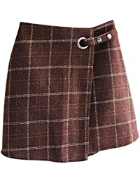 Originaltree - Mini Falda de Lana de Invierno para Mujer 0d2f4d0dfec7
