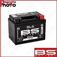 batería BS Battery SLA sellada btx4l + Yamaha Terrestre aerox 100 ...