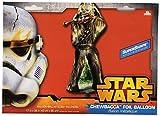 96,5cm New Star Wars Chewbacca Supershape Folie Geburtstag Party groß Ballon 96cm x 43cm Original Charakter Geschenkidee Weihnachten Jahrestag Fan Raum Dekoration