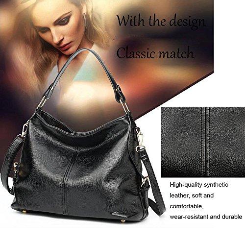 Sacchetto di spalla di modo di ANNE per la borsa semplice delle donne B Blue