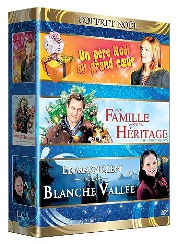 Coffret Noël : Un Père Noël au grand coeur / Une famille pour un héritage / Le Magicien de la Blanche Vallée