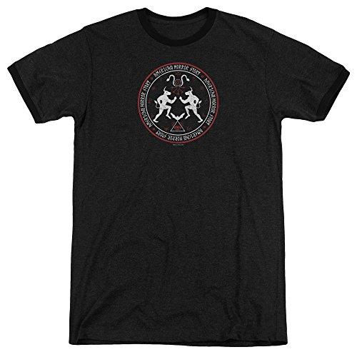 American Horror Story Herren T-Shirt Schwarz
