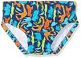 DIMO-TEX Sun Baby-Jungen Schwimmwindel Windelbadehose UV-Schutz 50, Mehrfarbig (Aop Tiere), 80 (Herstellergröße: 74/80)