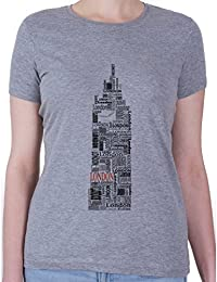 Big Ben London Font Camiseta - Mujeres
