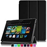 "Fintie Amazon Kindle Fire HD 7"" (2013 Old Model) SmartShell Case Cover Ultra Slim Lightweight with Auto Sleep / Wake Feature (will only fit Amazon Kindle Fire HD 7, Previous Generation - 3rd) - Black"