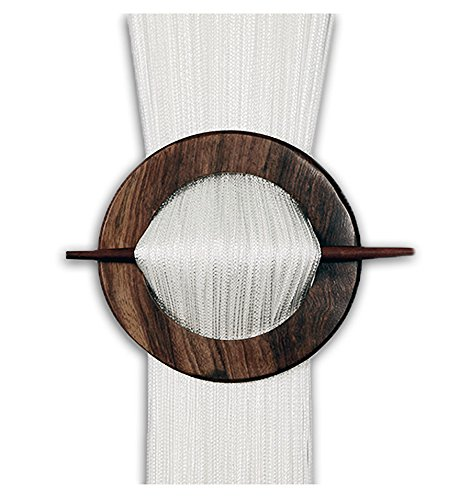 Rideaux décoratifs blancs séparateur de pièce rideaux de frange