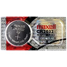 2 Maxell Moneda de 3 V CR2032 batería de litio