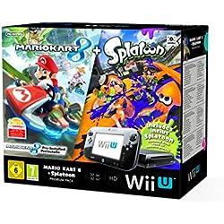 Nintendo Wii U Console Premium Pack Mario Kart 8 Pre-installed + Splatoon