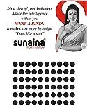 Sunaina Sticker Kumkum Black Velvet B-6 ...