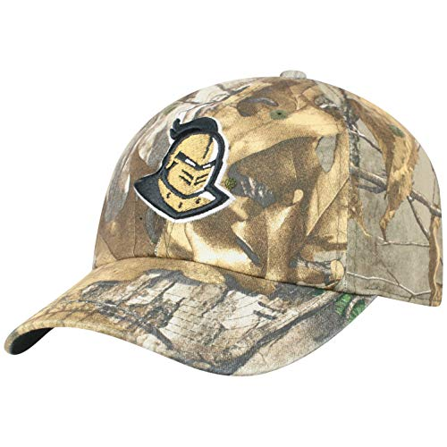 Top of the World NCAA Central Florida Golden Knights Men's Real Tree Camo Adjustable Icon Hat, Real Tree Central Florida Ucf Golden Knights