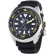 Seiko Kinetic Diver - Reloj automático , correa de plástico color negro