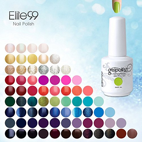 [298 couleurs] Choisir Lot de 8 Verni à ongle Semi-Permatent Gel Polish Nail Art LED UV Soak-off 15ml*8