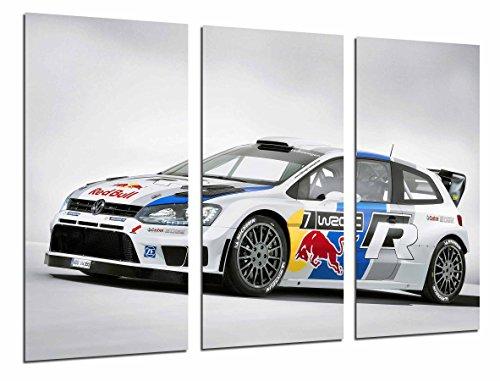 Cuadro Fotográfico Deporte Coche Carrera Rally Volkswagen