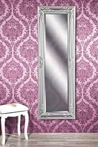 B.U.S. Wohnstyle GmbH GWEN Miroir mural étroit Argenté 120 x 40 cm