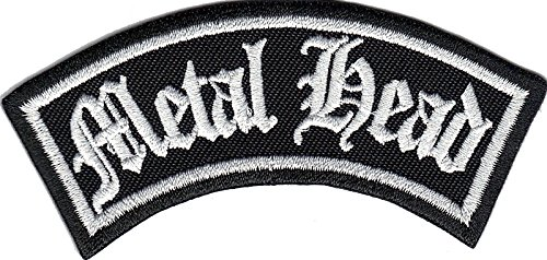 METAL HEAD Biker Rider Rankpatch Heavy DEATH METAL Rocker Aufnäher Patch (Death Head Patch)