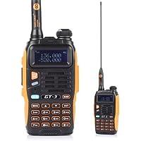 Baofeng Pofung GT-1UHF 400–470MHz FM Radio portatile 50CTCSS/105CDCSS FM 1800mAh batteria ricaricabile (Arancione)