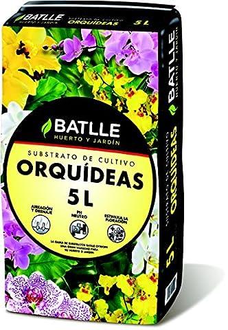 Batlle 960046unid4 - Substrat pour orchidées 5l