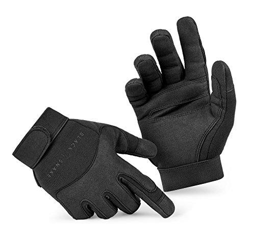 BlackSnake Tactical Army Gloves Herrenhandschuhe aus hochwertigem Spezialkunstleder Schwarz M