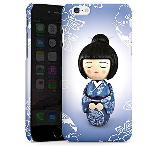 Apple iPhone X Silikon Hülle Case Schutzhülle Koi Kokeshi Puppe Asien Premium Case matt