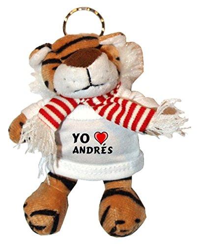 Shopzeus Tigre de Peluche (Llavero) con Amo Andrés en la...