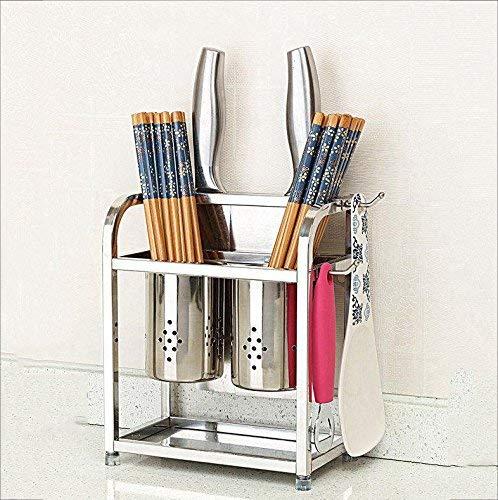 Yuang 304 Edelstahl löffel Halter/kreative Heimat küchenregal küchenregal lagerung (Gr�