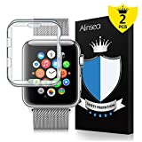 Alinsea Apple Watch 42mm Coque[2 Pièce], pour Apple Watch 42mm Protection écran...