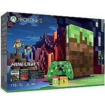 Microsoft Xbox One S - Consola 1 TB Minecraft - Edición Limitada
