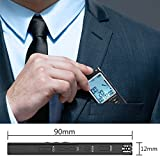 from DREAMRY Digital Voice Recorder, DREAMRY 8GB USB Audio Recorder with Mp3 Player, Small and Portable Sound Recorder with HD Recording, Double Microphone Rechargeable Dictaphone for Lectures - Black Model V1