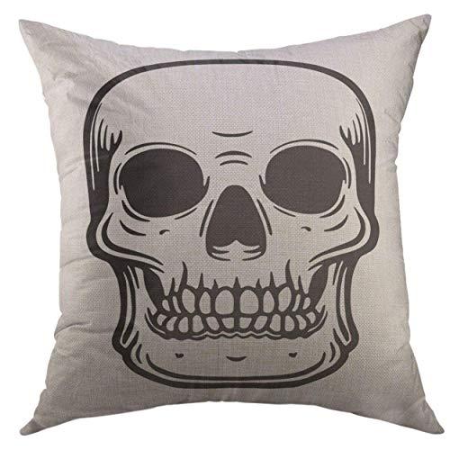 FPDecor Dekorativ Kissenbezug, Pillow Cover Apocalypse Nuclear Explosion Atomic Bomb Mushroom Cloud Armageddon Home Decorative Square Throw Pillow Cushion Cover 18x18 Inches Pillowcase -