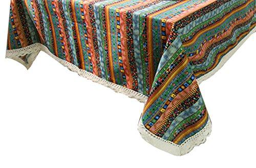 schen Tischdecke Rechteck nordischen Stil Country Style Plaid Tischdecken, geeignet für das Restaurant, Cafe eine Vielzahl von Größen ()