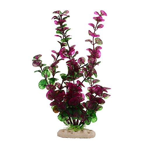 Gulin Aquarium Plastikpflanzen, Wasserpflanze Dekorationen, Premium Qualität Emulational Wasser Gras Ornament, Startseite DIY Dekorationen