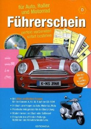 Führerschein für Auto, Roller und Motorrad, m. CD-ROM