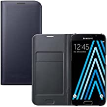 Coque Samsung Galaxy A5 2016, Ordica France® Housse Galaxy A5 2016 Etui Portefeuille Bleu Rabatable Rabat Protection Pochette Refermable Integrale Flip Cover