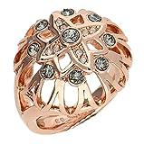 Guess Damen-Ring Edelstahl Ros&eaigu;gold UBR61012-52 - 52