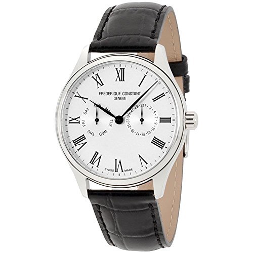 Frederique Constant Men's Classic 40mm Black Swiss Quartz Watch FC-259WR5B6